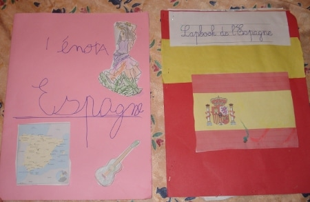 lapbook Espagne