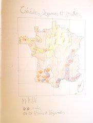 Carte des régions agricoles françaises 2