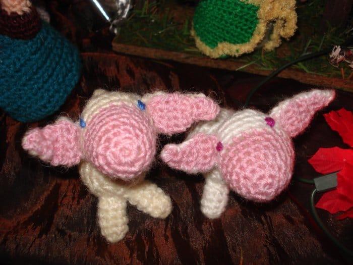 moutons d'Imbolc au crochet