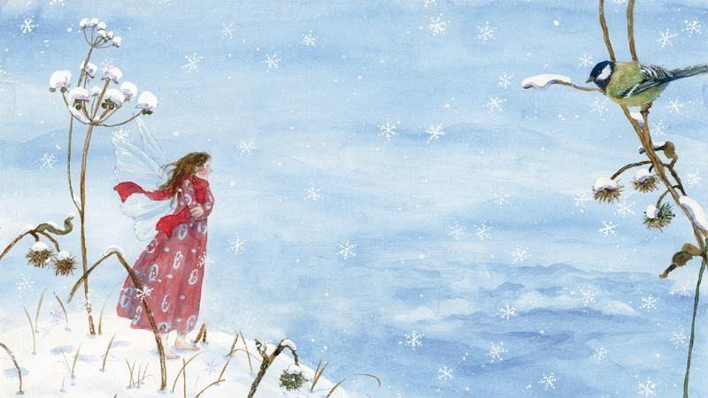 Jeu de doigts des fées de l'hiver