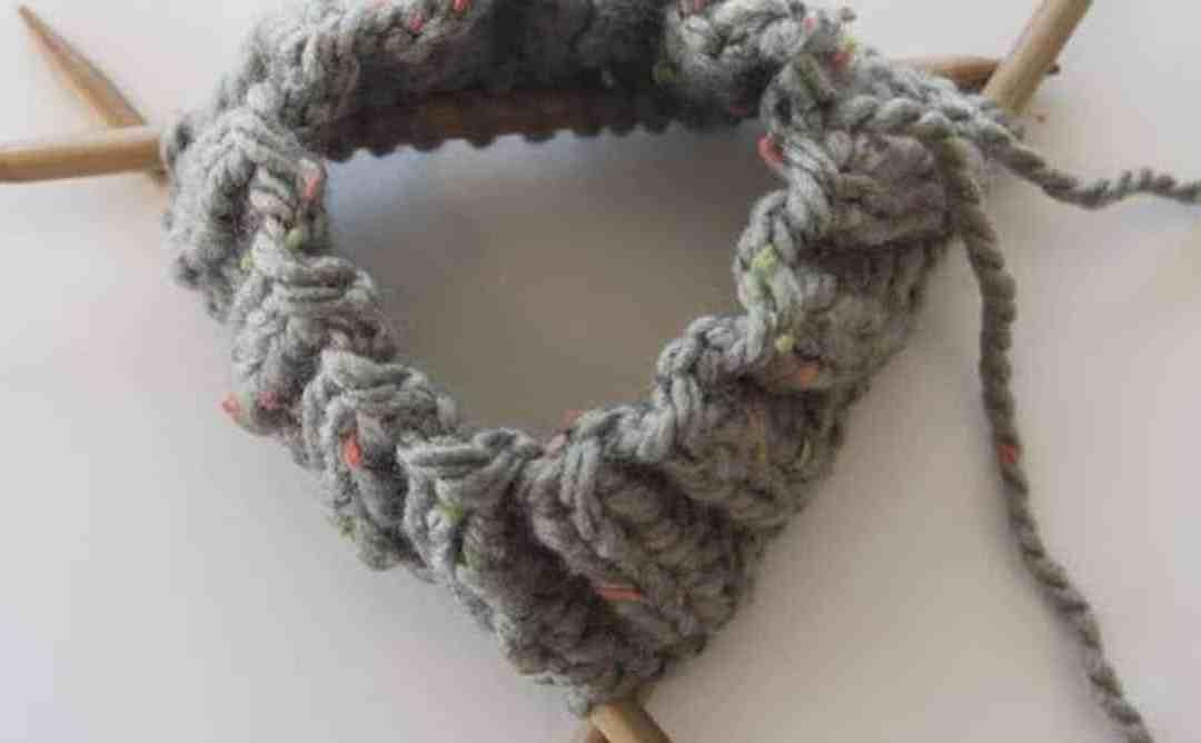 mathématiques avec le tricot