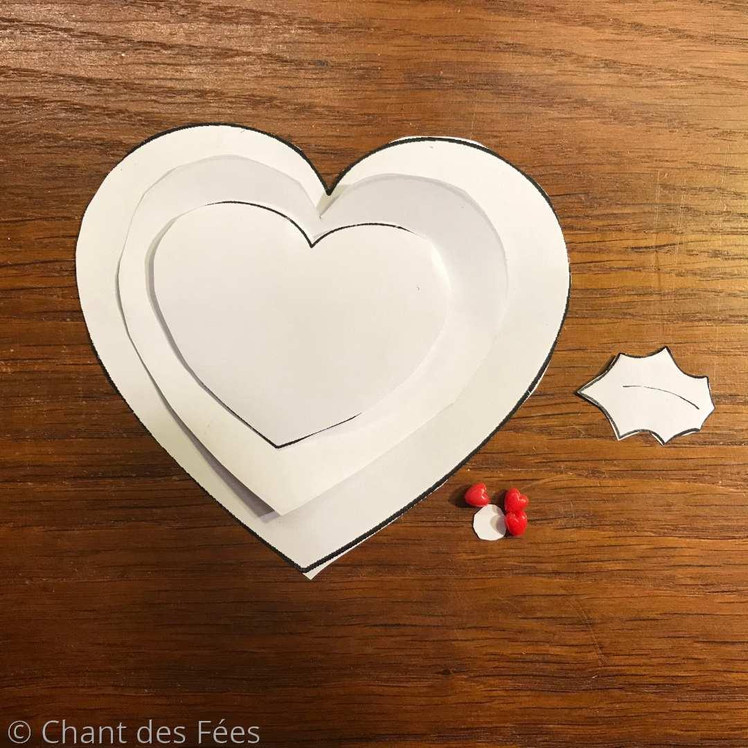 coeur en feutrine