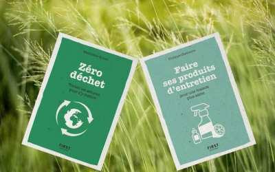 Deux petits livres efficaces sur le Zéro déchet et sur les produits ménagers faits maison !