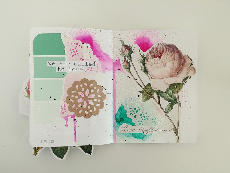 An Art Journal Flip Through
