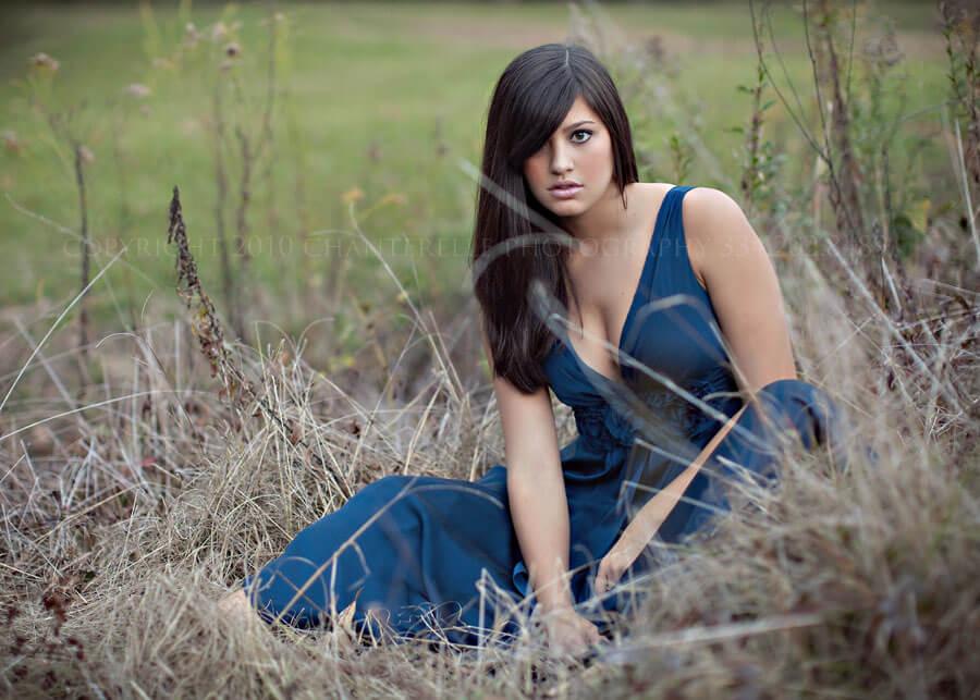 Senior Portrait Alexandra  Fort Toulouse  Wetumpka Alabama  Chanterelle Photography
