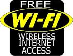 Free Wifi…..or not!