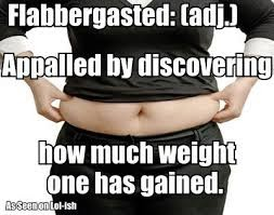 Flabbergasted and other new meanings….
