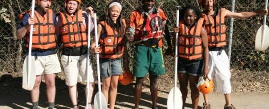 Kids Go Rafting!