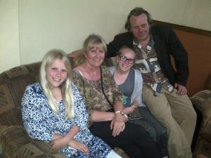 Ingrid, Ann-Sylvie, Anna, Dag Larsen