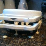 waffle iron messy