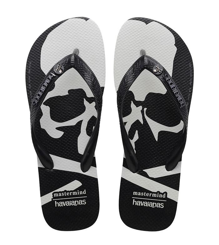 Havaianas和mastermind JAPAN全新聯名款拖鞋發布
