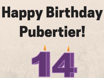 Happy BirthdayPubertier!