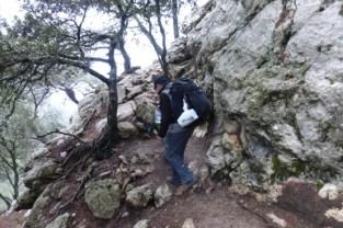 Auf dem Weg zur Einsiedlerhöhle