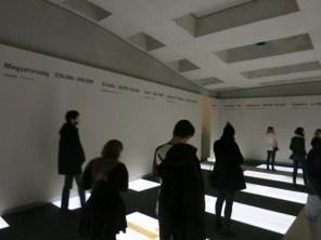 Das Museum unter dem Holocaust-Denkmal ist gratis und sollte nicht verpasst werden.