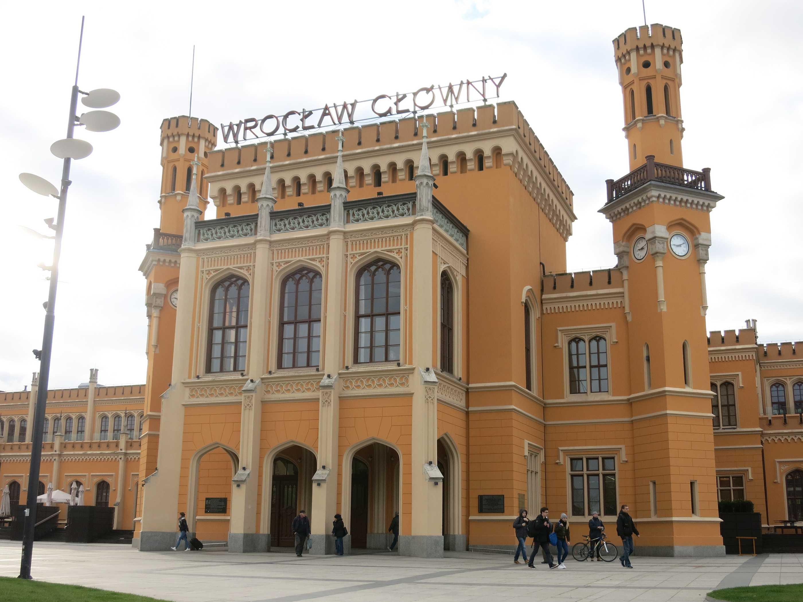Bahnhof Breslau