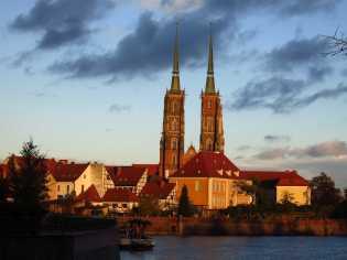 Breslau am Abend