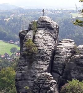 Mönch an der Bastei