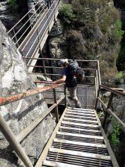 Höhenangst an der Bastei