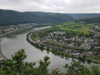 Traumpfad Ehrenburg: Blick auf die Mosel