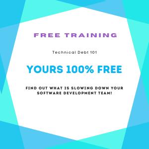 Technical Debt 101 - Free Training