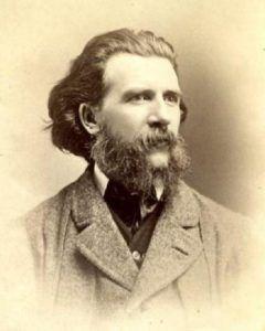 Gerald Massey, vers 1860. Cette photographie est attribuée àJohn & Charles Watkins.