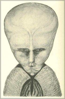 Le portrait de Lam. Originellement publié dans la revueThe Equinox en 1919.
