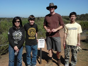 The Chaparral Lands Conservancy Volunteers at Carmel Mountain.