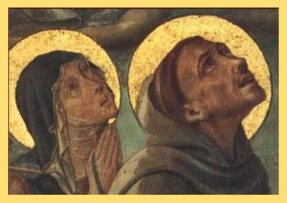 Les mystiques franciscains: François et Claire d'Assise