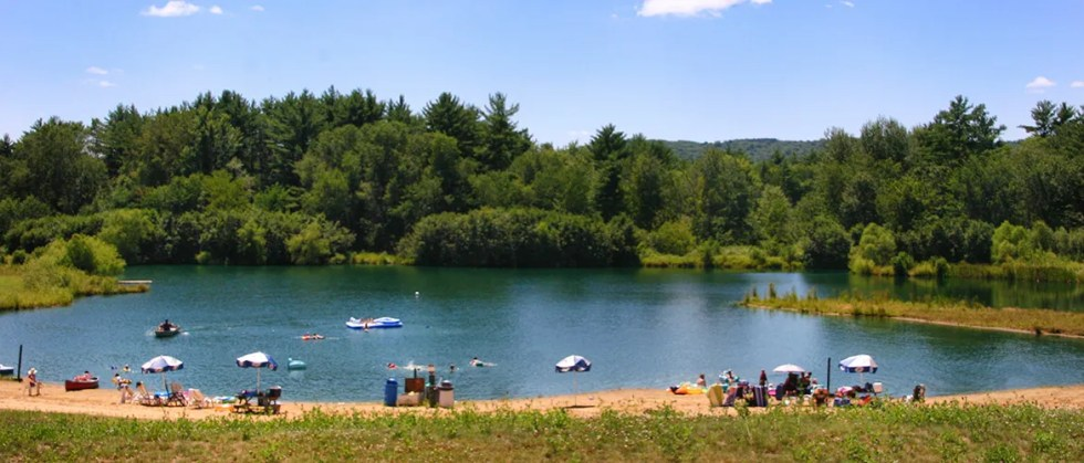 Chapparal Campground Swimming Beach
