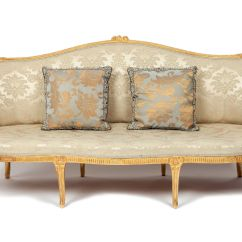 Modern Cabriole Sofa Framework Alipay George Iii Period Giltwood In The Chippendale Manner