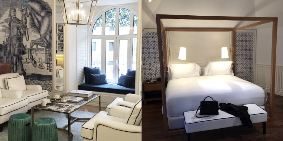 Situated in a renovated building and decorated by interior designer Lãzaro Rosa-Violan.