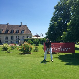 Cartier golf tournament Golf club de Geneve Barnhoorn