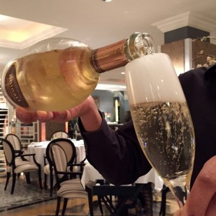 Champagne by Ruinart