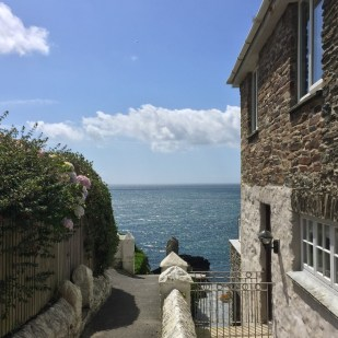 Sea view at The Lugger Hotel