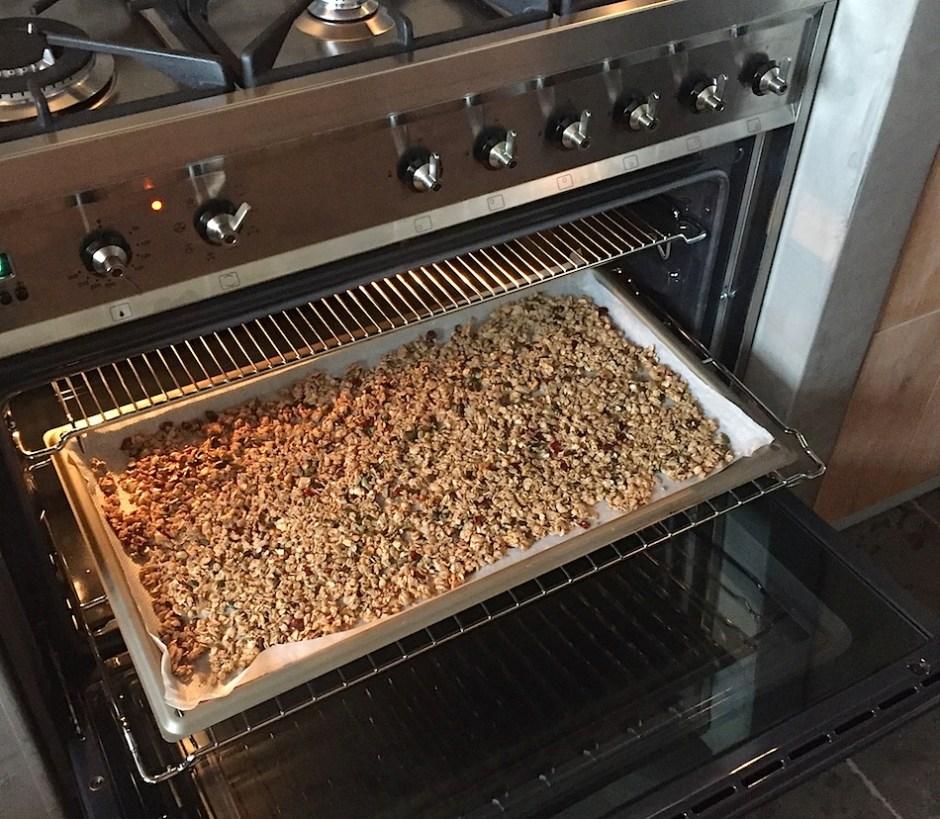 homemade granola sugarfree
