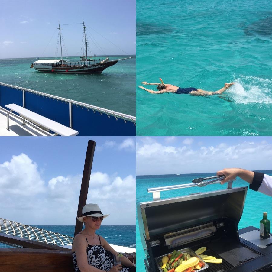 Luxury Aruba Montforte III sailing
