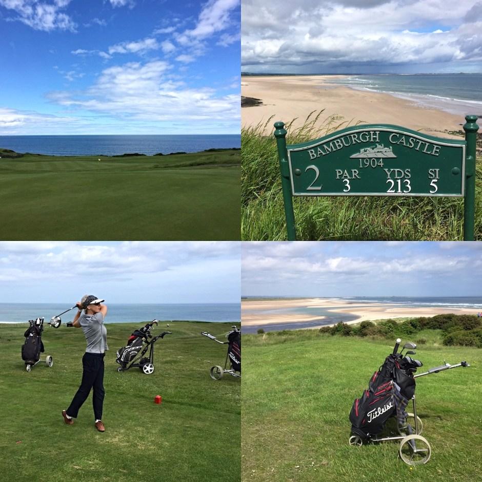 links course Bamburgh Castle Golf club