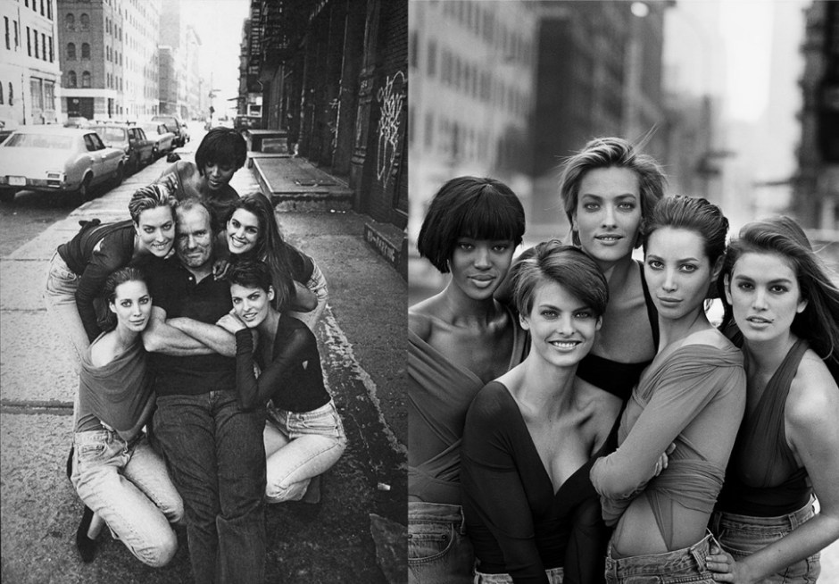 Peter Lindbergh and models