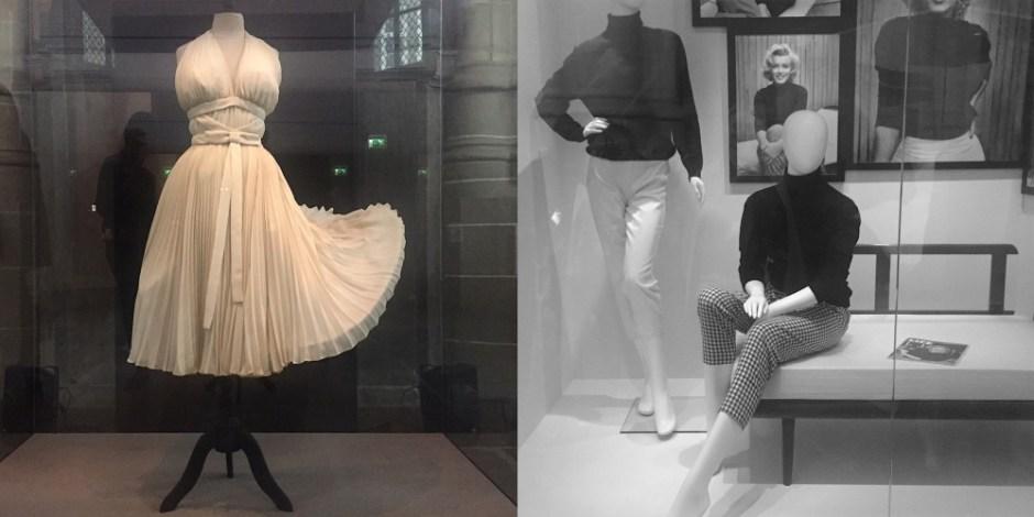 ms monroe iconic white dress