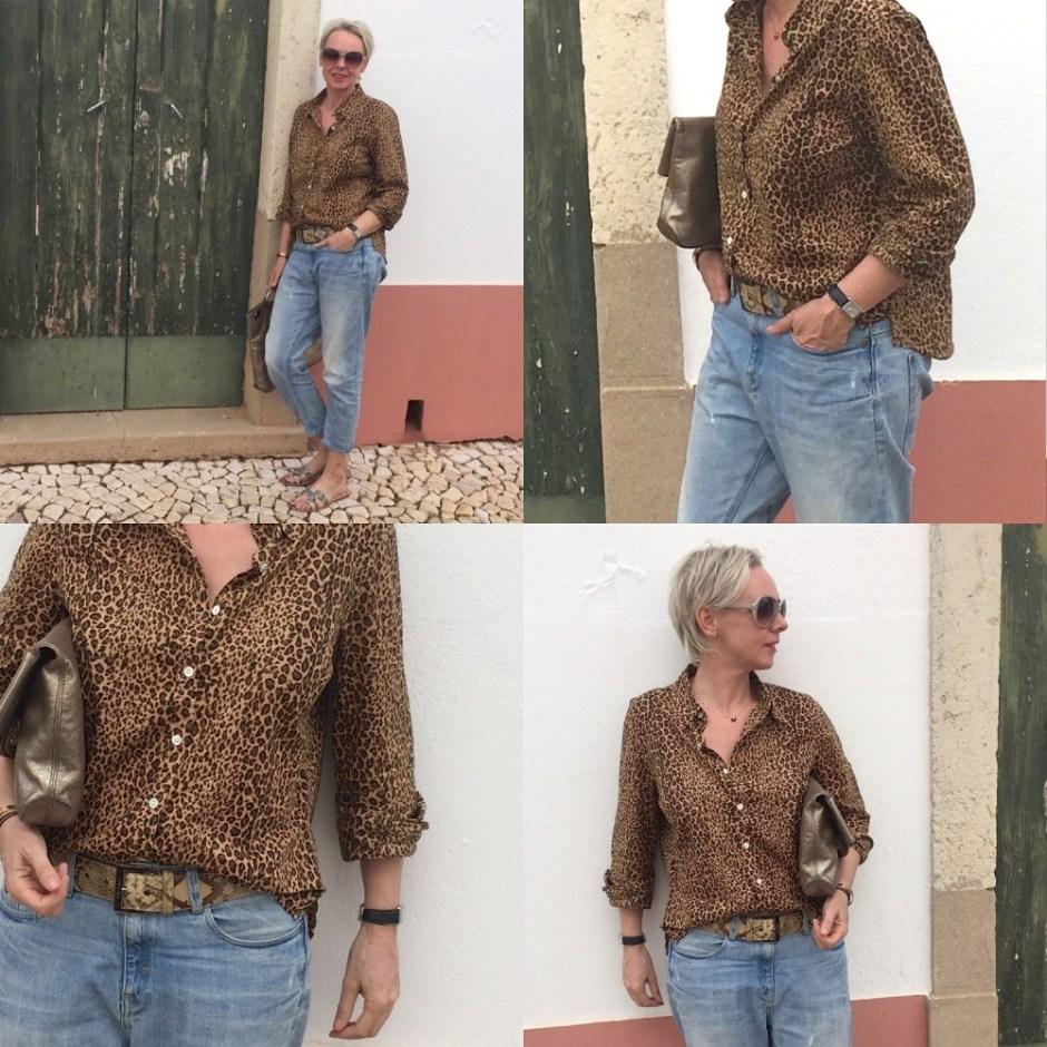 Decadence Vintage Leopard Vintage Shirt