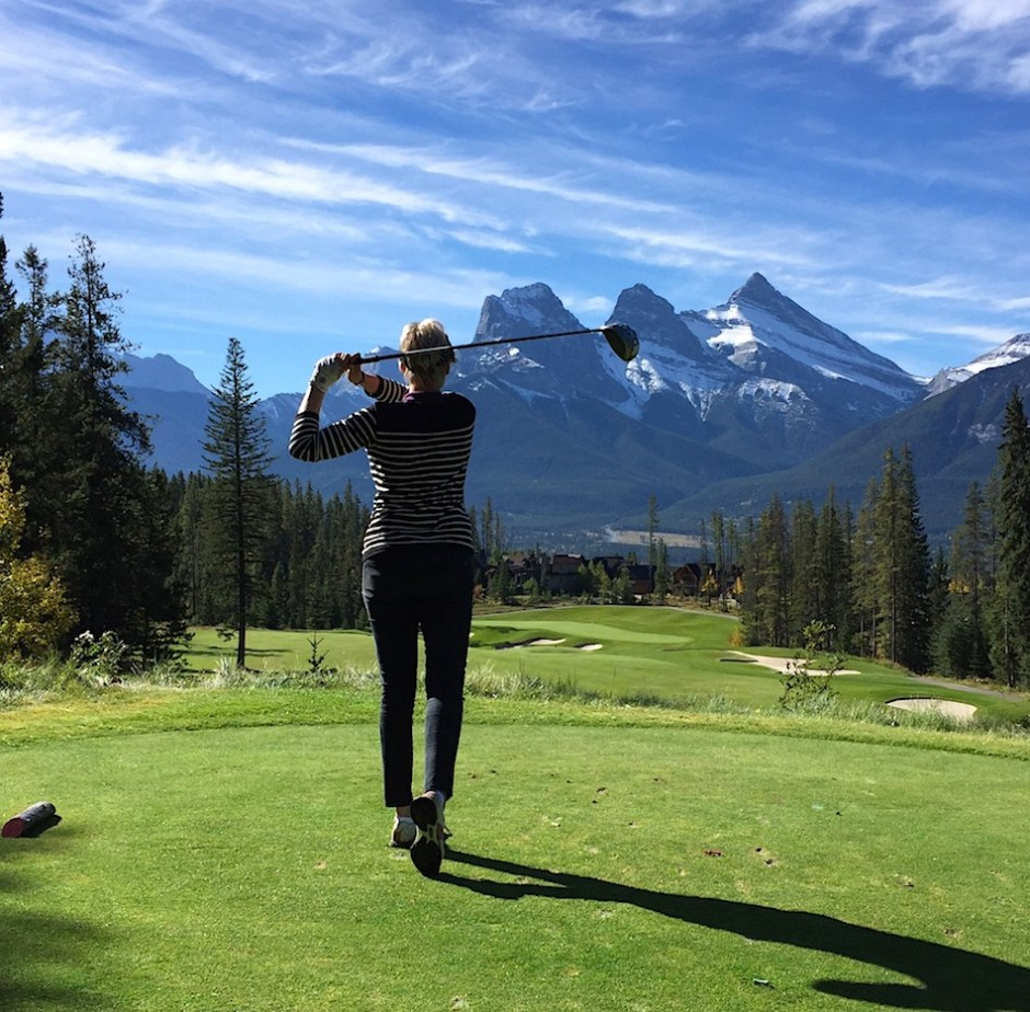 Silvertip Canadian Rocky Mountains Golf course