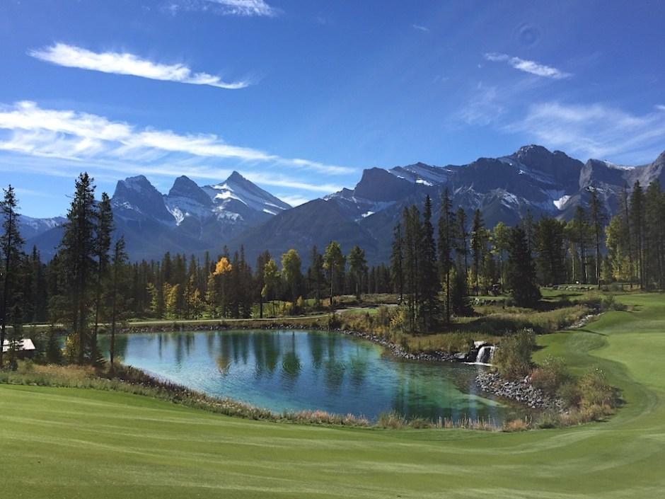 Silvertip Rocky Mountains golf course Alberta