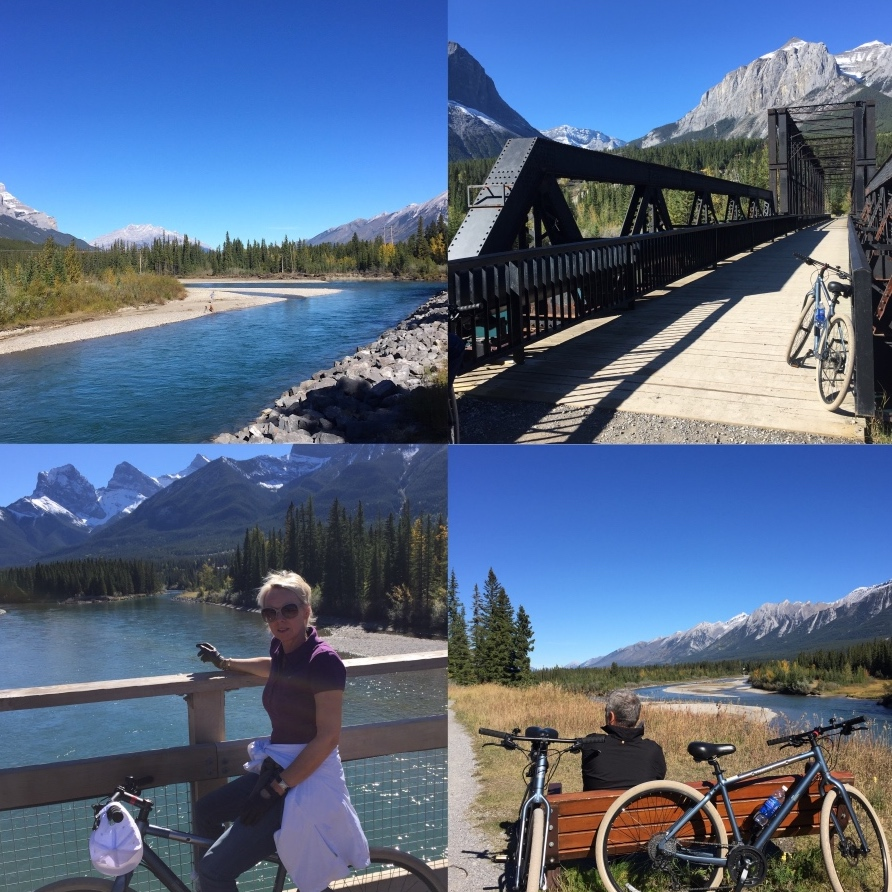 Canmore Banff Bow valley Rocky Mountains