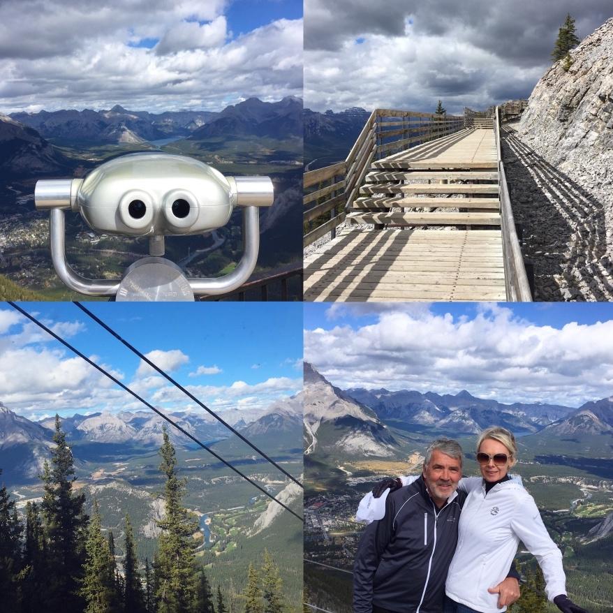 Banff Gondola Rocky Mountains