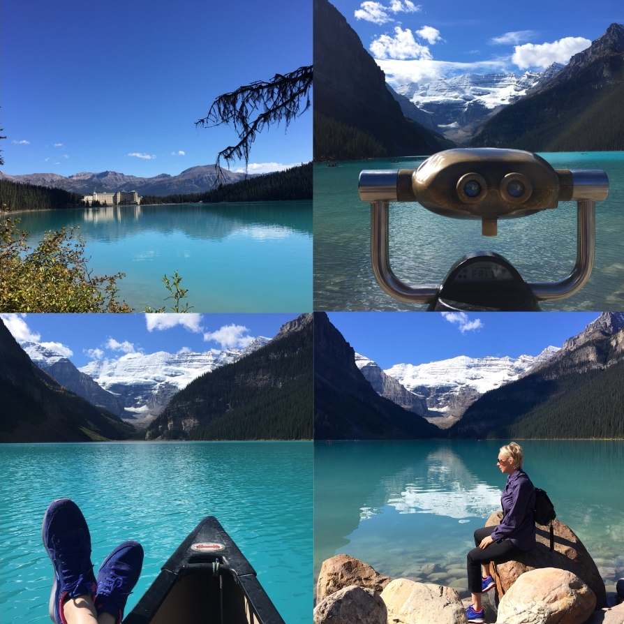 Lake Louise Banff Rocky Mountains
