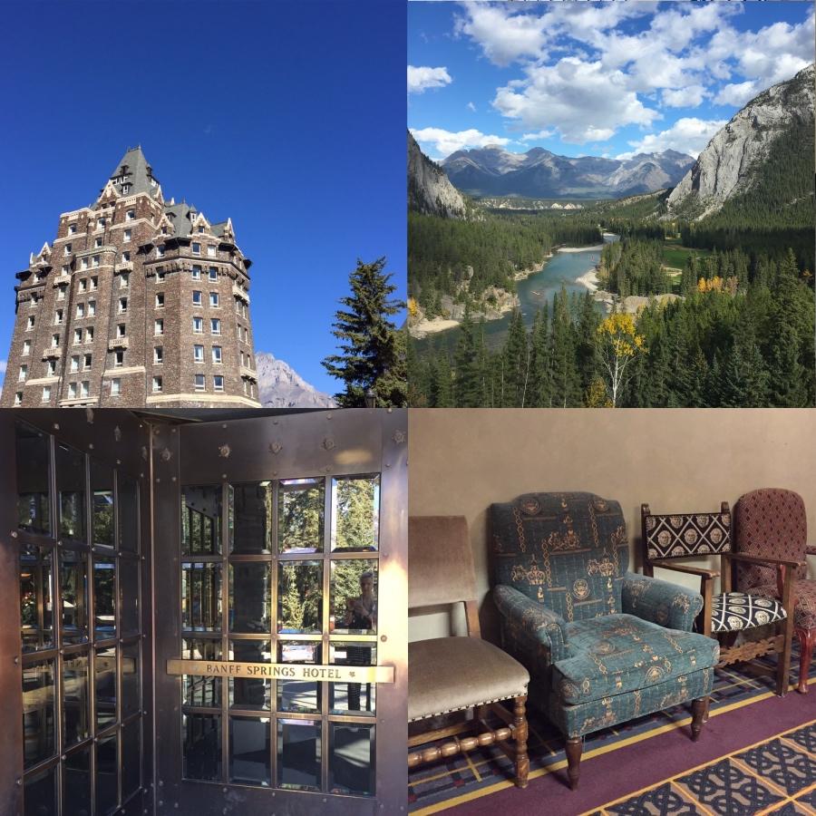 Fairmont Banff Springs Hotel Rocky Mountains Alberta
