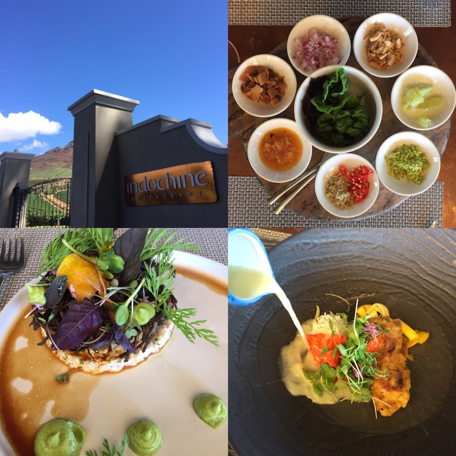 lunch Western Cape Indochine