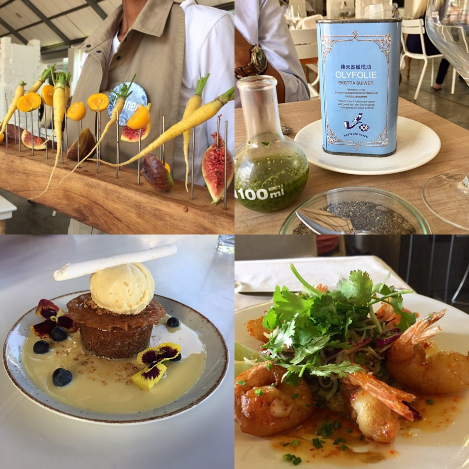 lunch westernn cape south africa farm to table
