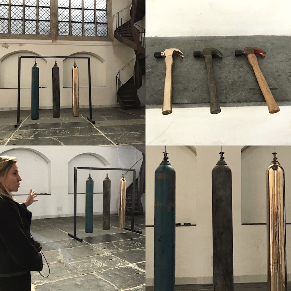 Sarah van Sonsbeeck oxygen tank Oude Kerk