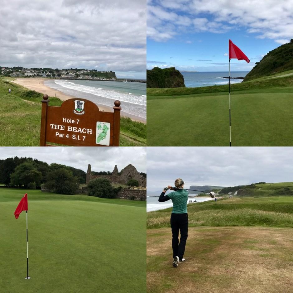 Links golf NOrthern Ireland Ballycastle